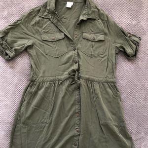 Olive green tunic/dress